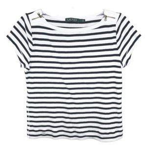 5/$35 Lauren Ralph Lauren Short Sleeve Top - L